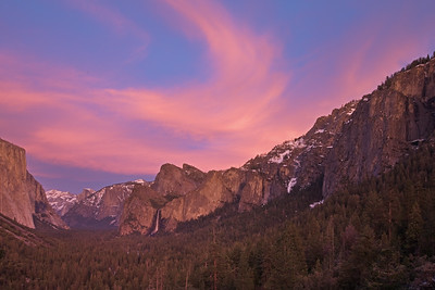 Swirling Clouds Over Tunnel View