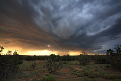 Dramatic Skies Over New Mexico
