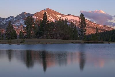 Sunset on Mammoth Peak