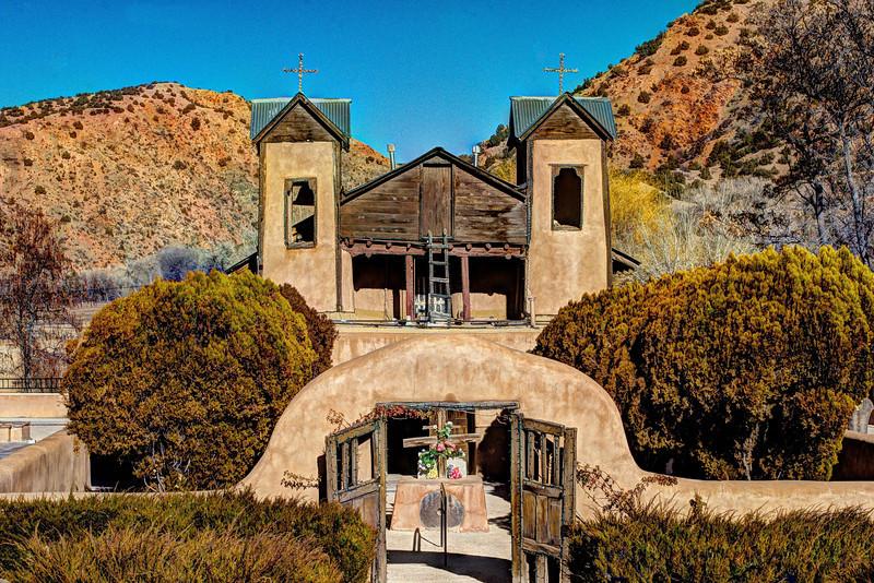 El Santuario de Chimayo New Mexico