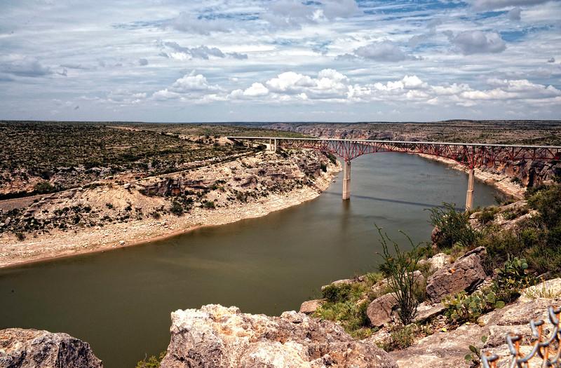 Highway 90 bridge over the Pecos River