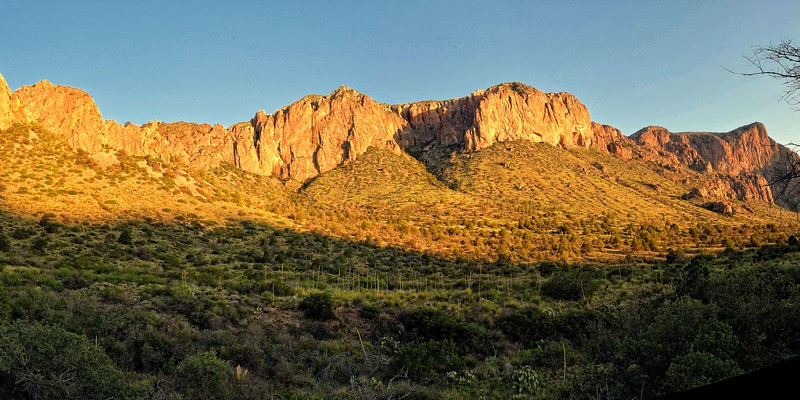 The Chisos in Big Bend