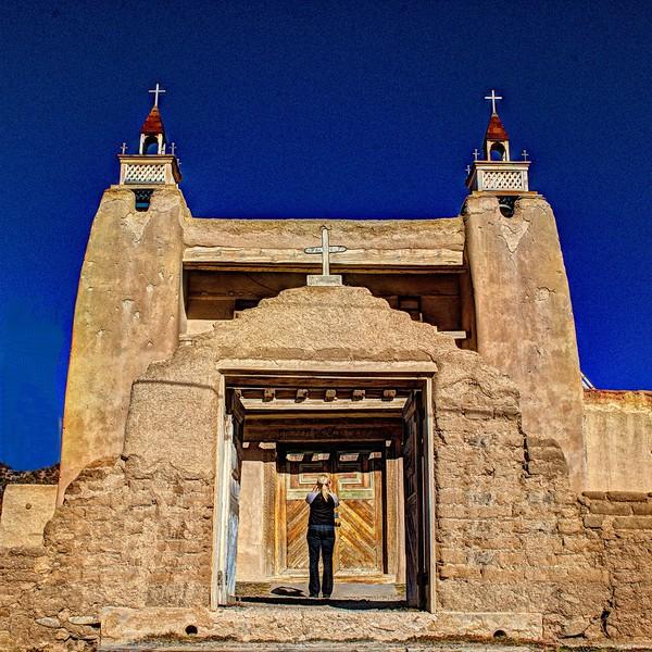 San José de Gracia Church Las Trampas, New Mexico