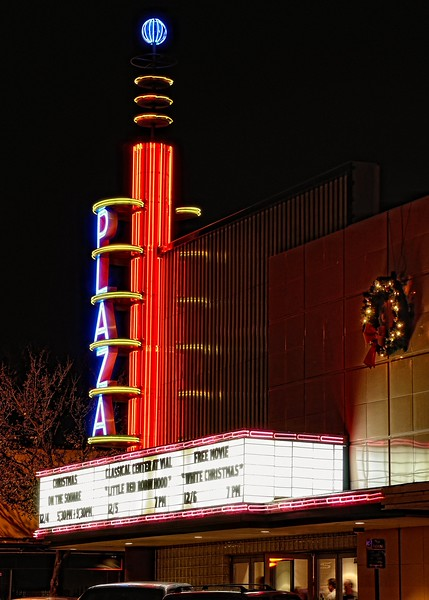 The Plaza Theater, Garland, TX