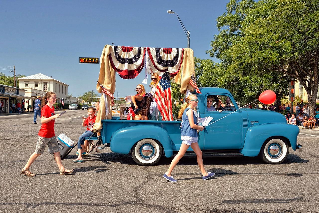 Fredericksburg, TX 4th of July parade
