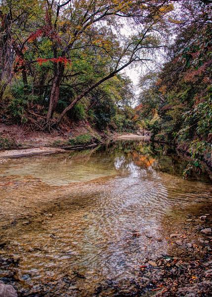 Duck Creek in south Garland