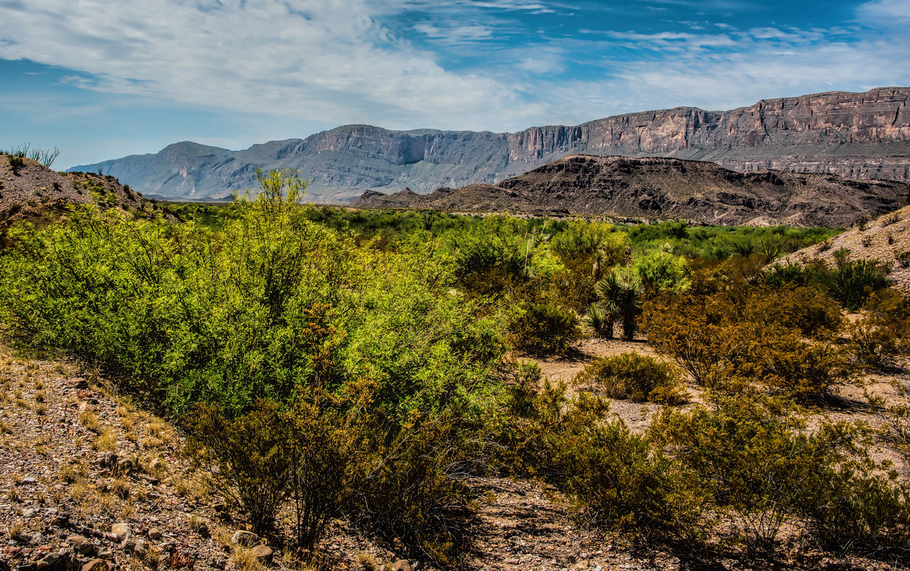 Sierra del Carmen (Mexico), Big Bend National Park