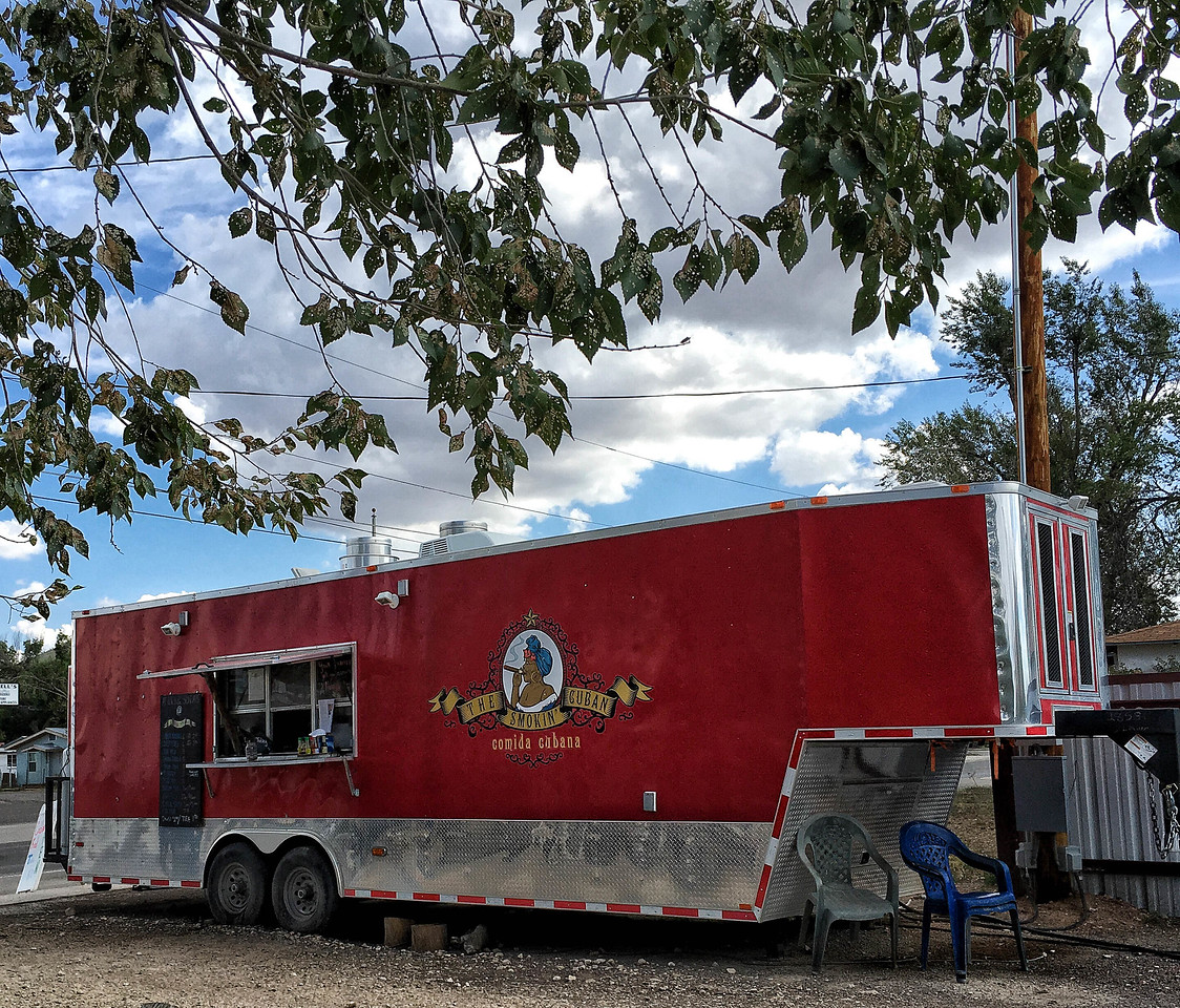 The Smoking Cuban food truck, Alpine