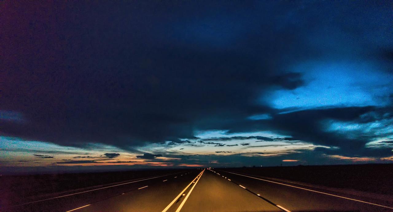 Road tripping near Marfa
