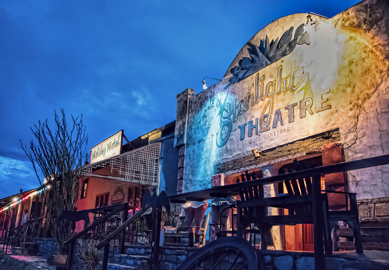 Starlight Theatre, Terlingua, Texas