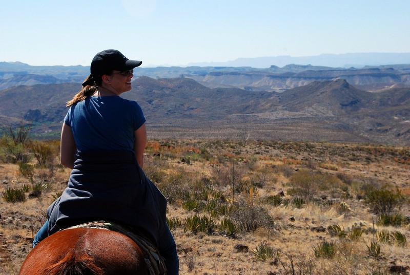 Jennifer enjoying her ride