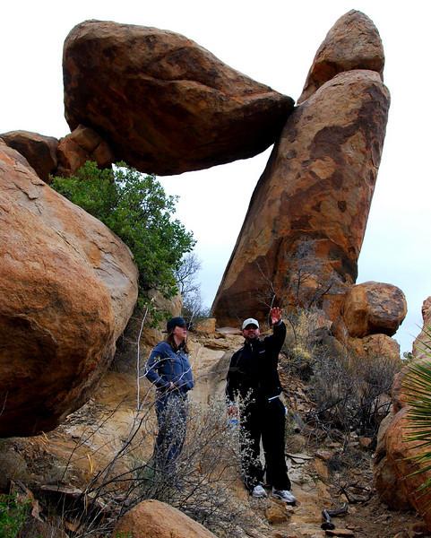 At the balanced rocks