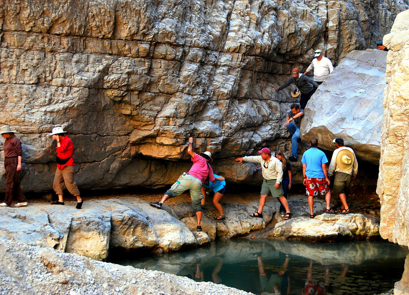 Exploring Fern Canyon
