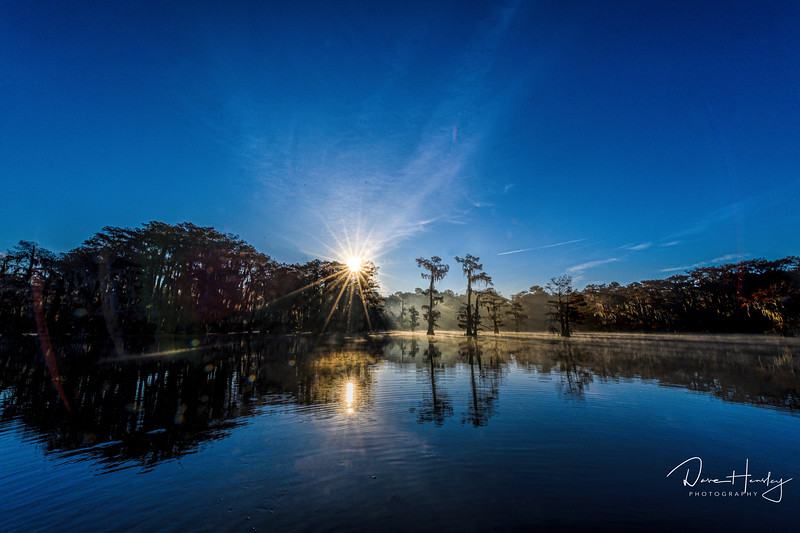 Caddo Lake sunrise