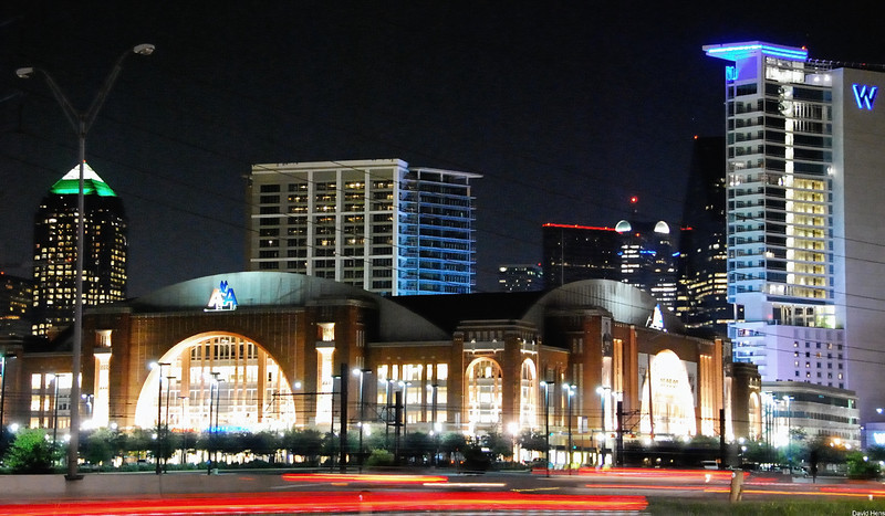 Dallas Skyline - AA Center
