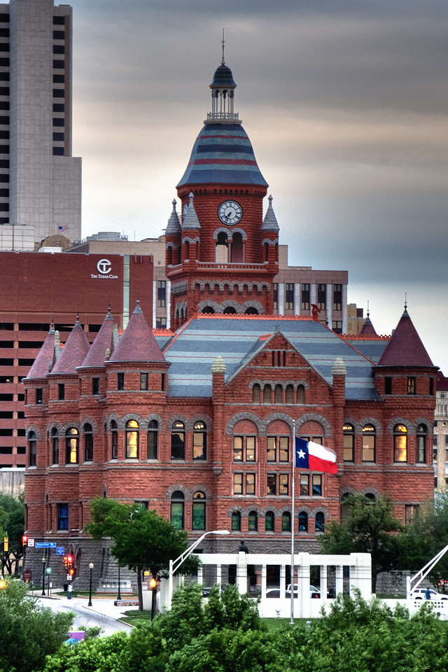 Old Red Courthouse, Dallas