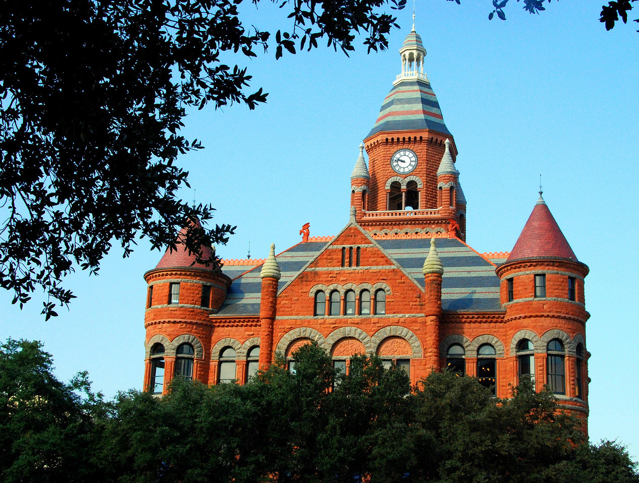 """Old Red"" former Dallas County Courthouse"