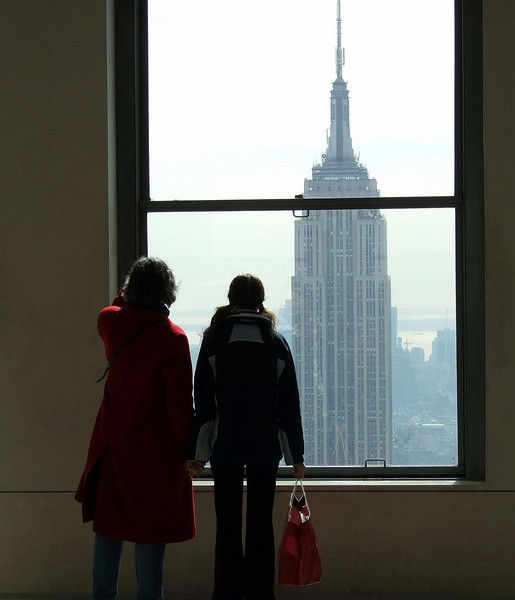 From the observation deck of 30 Rock