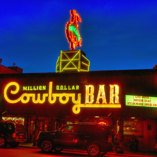 Cowboy Bar in Jackson Hole
