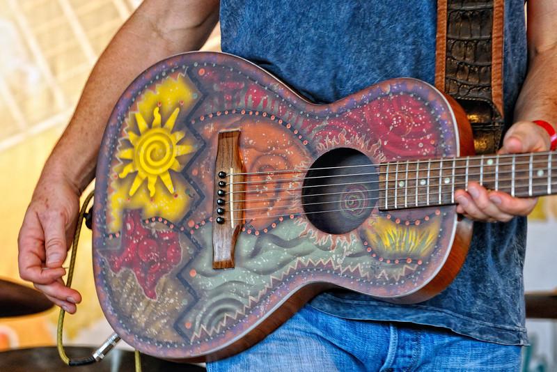 Walt's beautiful guitar