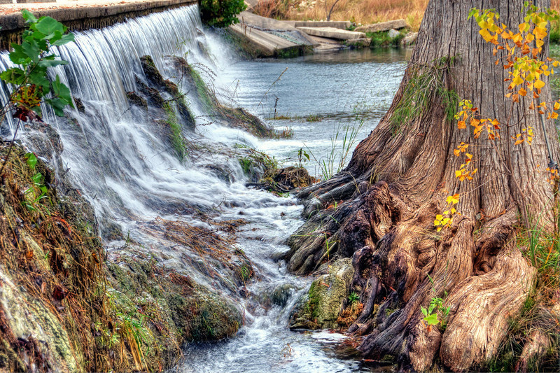 Spillway on Cypress Creek