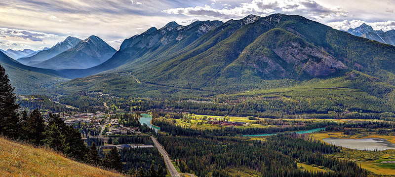 Banff from Mount Norquay Overlook