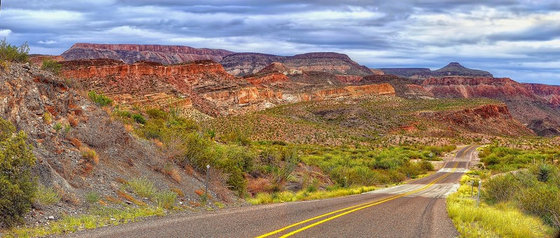 FM 170, the River Road, Big Bend Ranch State Park
