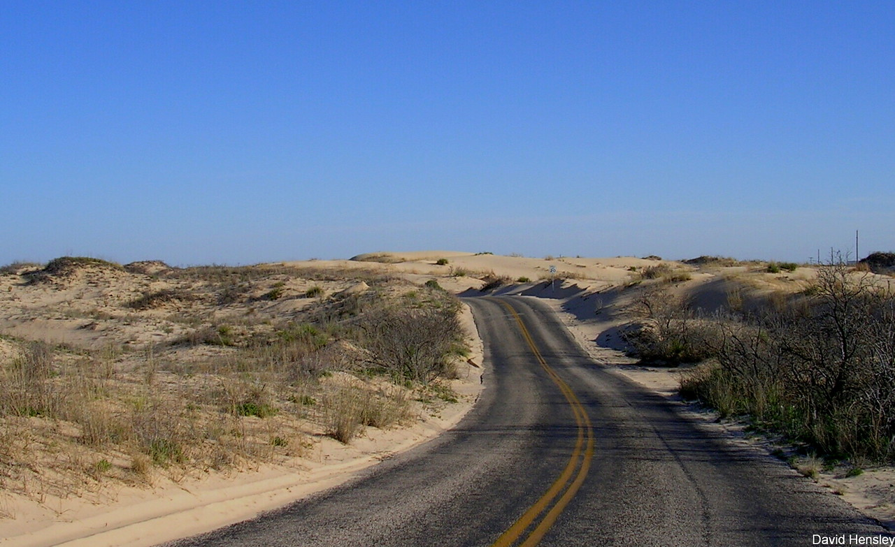 Sand Dunes State Park in Monahans TX