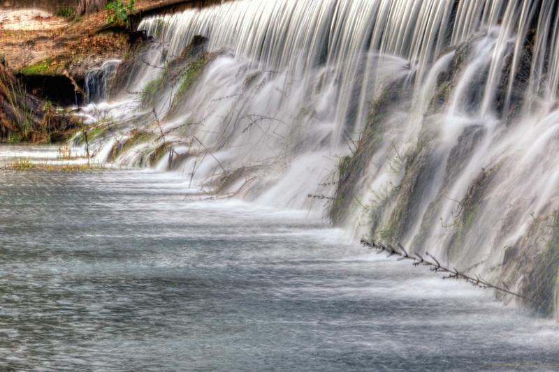 Spillway on Cypress Creek