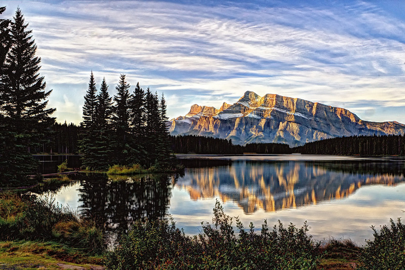 Mount Rundle Morning
