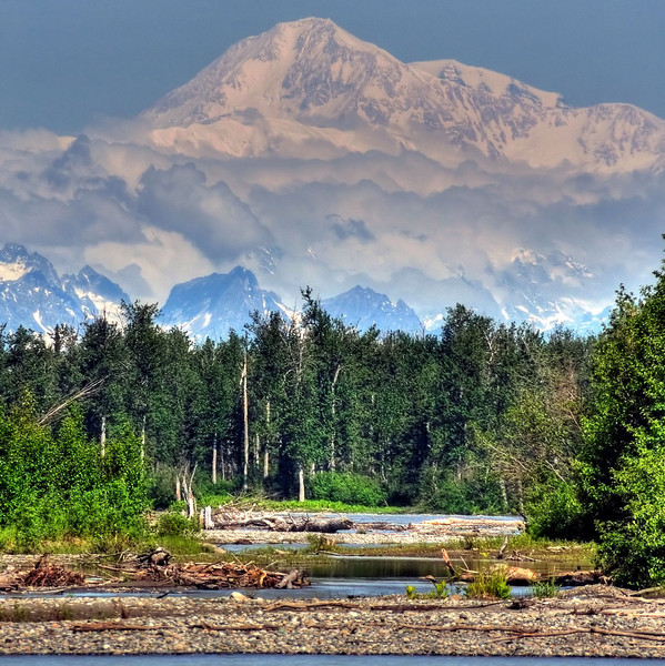 Denali, from Talkeetna River