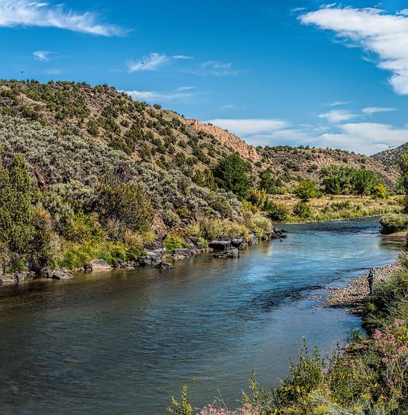 The Rio Grande between Taos and Santa Fe