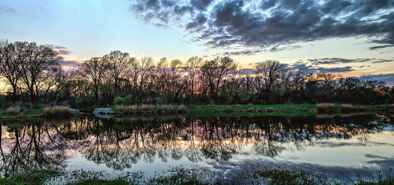 Sunset at Duck Creek Greenbelt