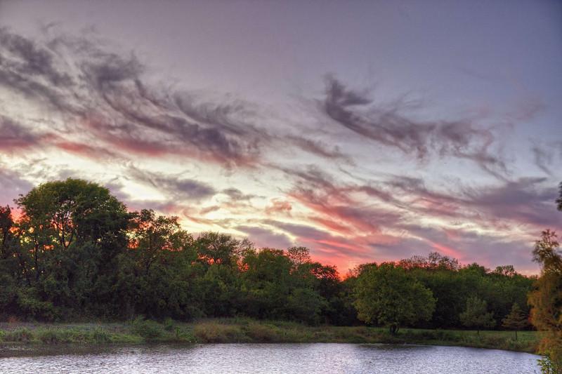 Duck Creek Sunset
