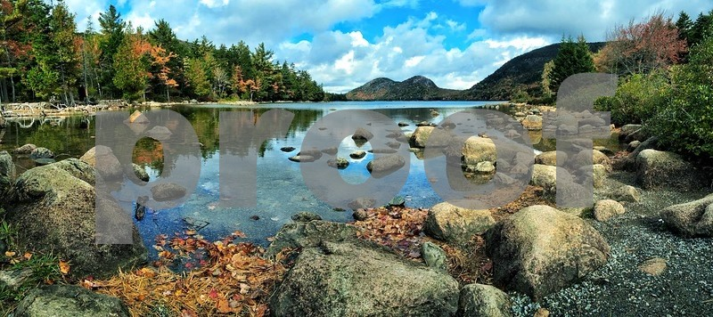 Jordan Pond and the Bubbles, Acadia National Park, Maine