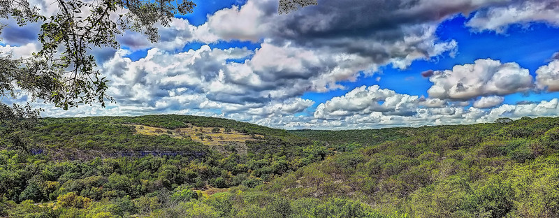 High in the Texas Hill Country