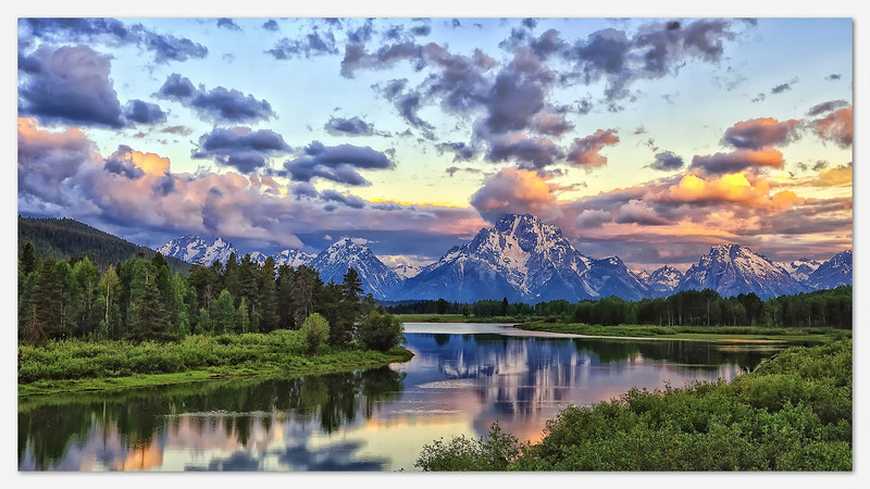 First Light at Oxbow Bend