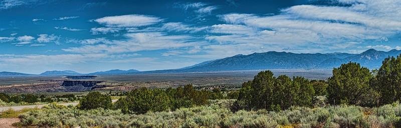 Taos, New Mexico panorama