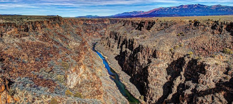 Rio Grande Gorge, near Taos, New Mexico