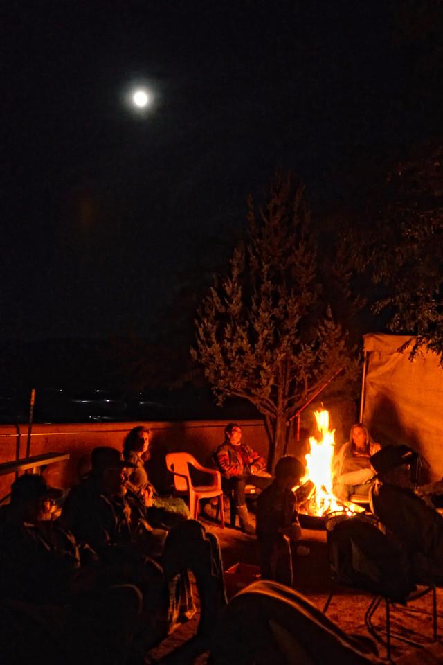 Full moon over Taos