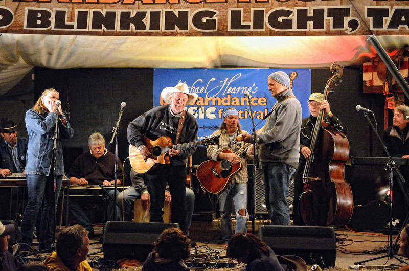 Scott Harris, Terri Hendrix, Lloyd Maines, Michael Hearne, Jimmy Davis, Don Richmond, Zeke Severson, Jimmy Stadler