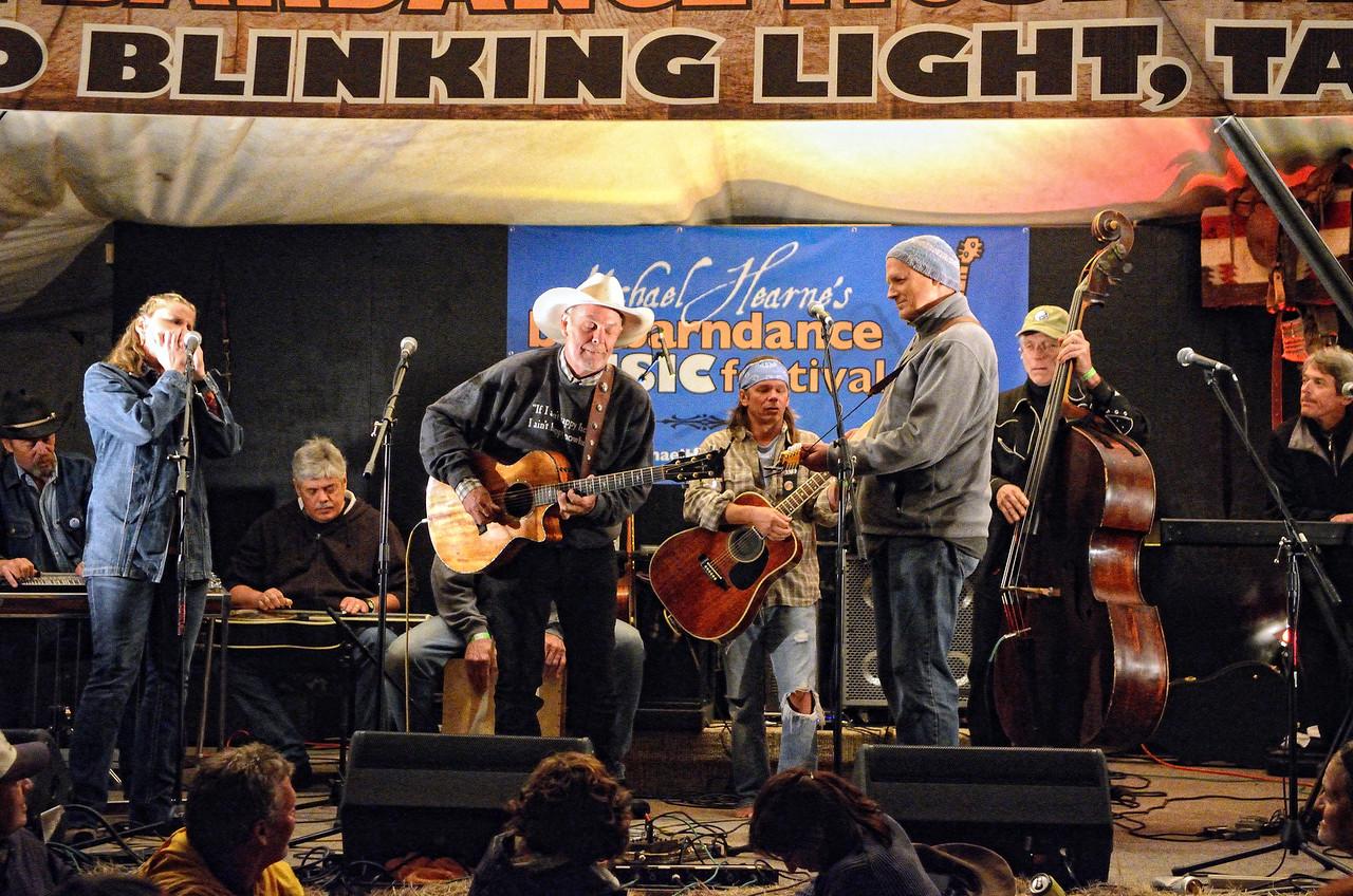 Scott Harris, Terri Hendrix, Lloyd Maines, Michael Hearne, Jimmy Davis, Don Richmond, Zeke Severson, Jimmy Stadler