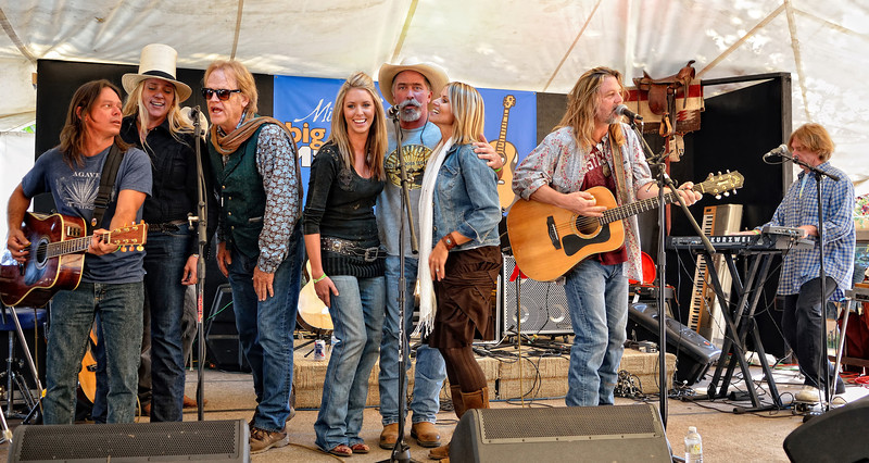 Jimmy Davis, Susan Gibson, Bob Livingston, Kylie Rae Harris, Mike Blakely, Tina Wilkins, Walt Wilkins, Patterson Barrett