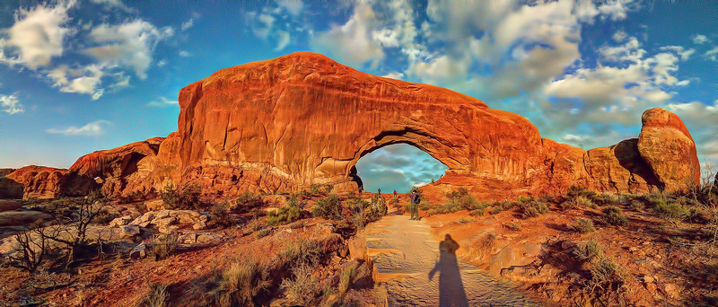 The Windows Arches, Arches National Park, Utah