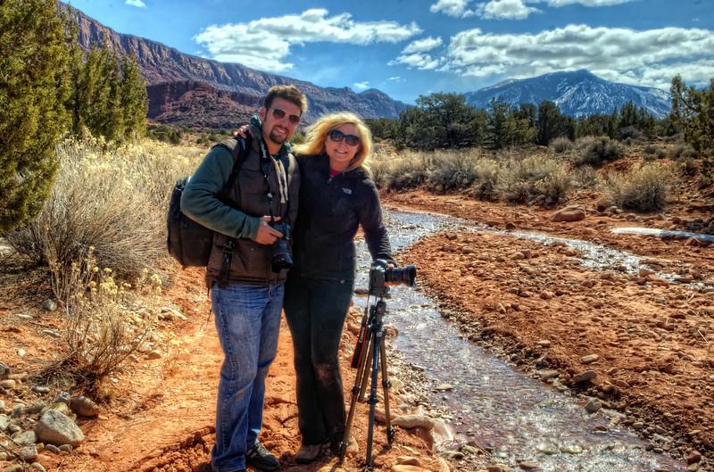 Clark and Jaki in Professor Valley, Utah
