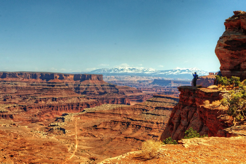 Shafer Trail Overlook, Canyonlands National Park