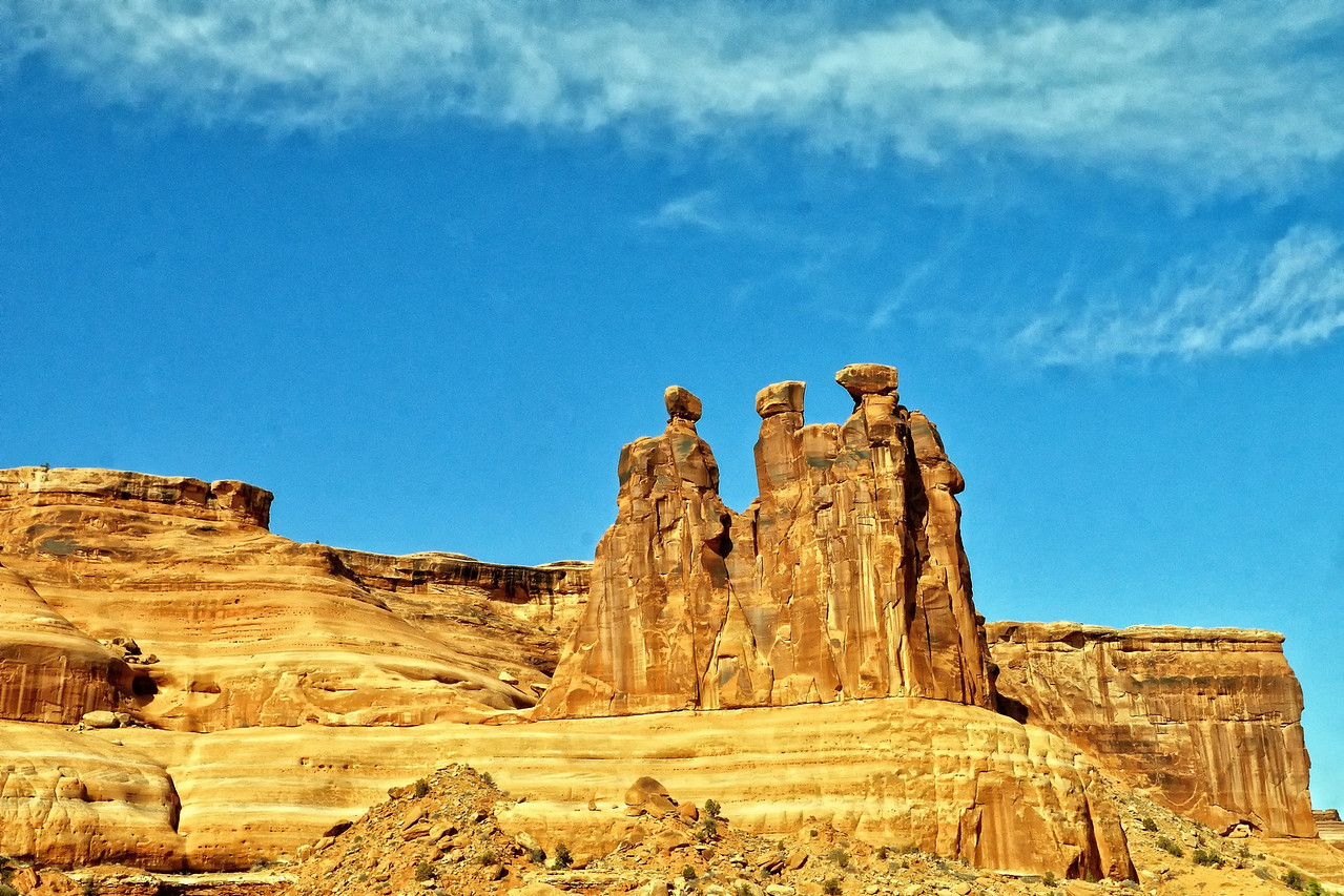 The Three Gossips, Arches National Park