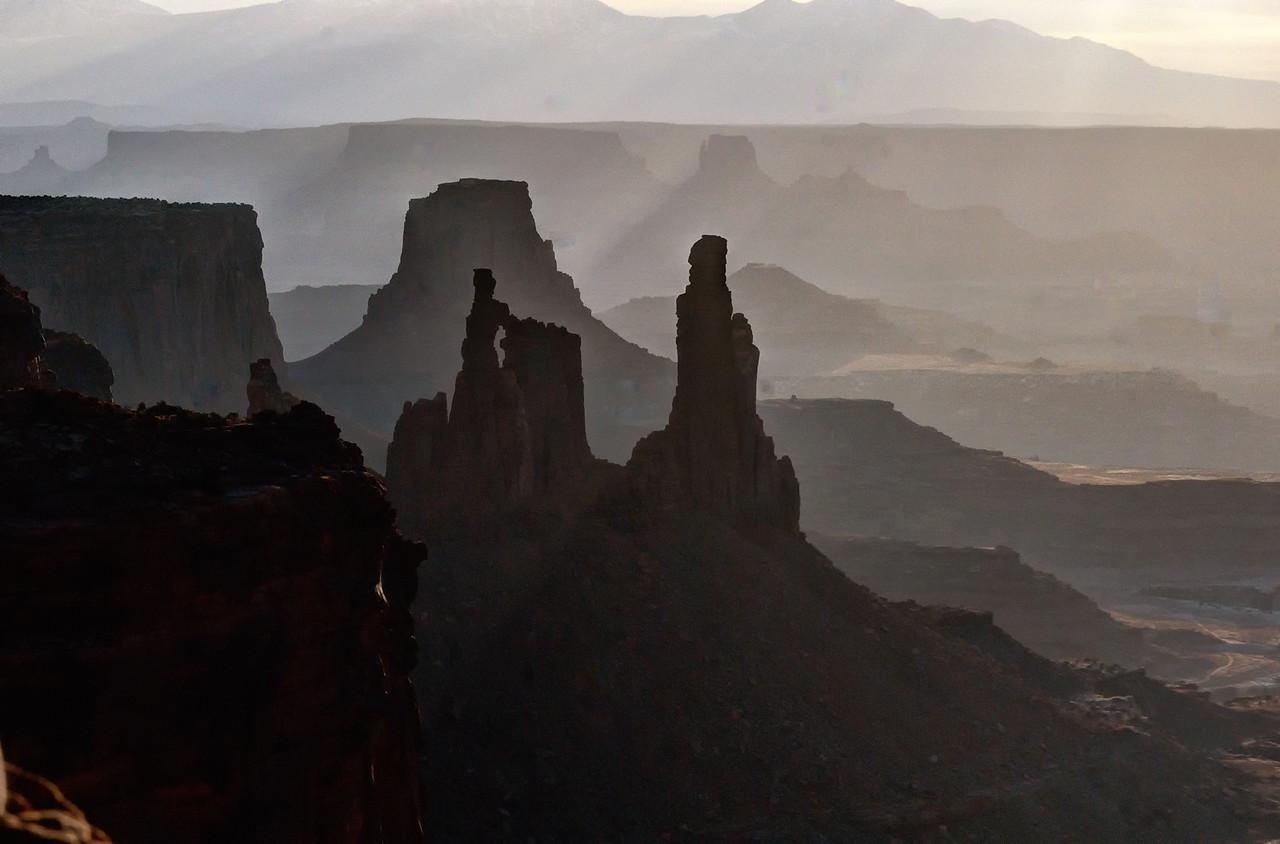 Near Mesa Arch, Canyonlands National Park, Utah