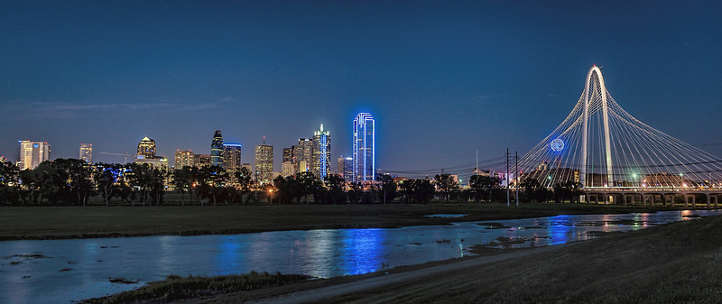 Dallas in Blue