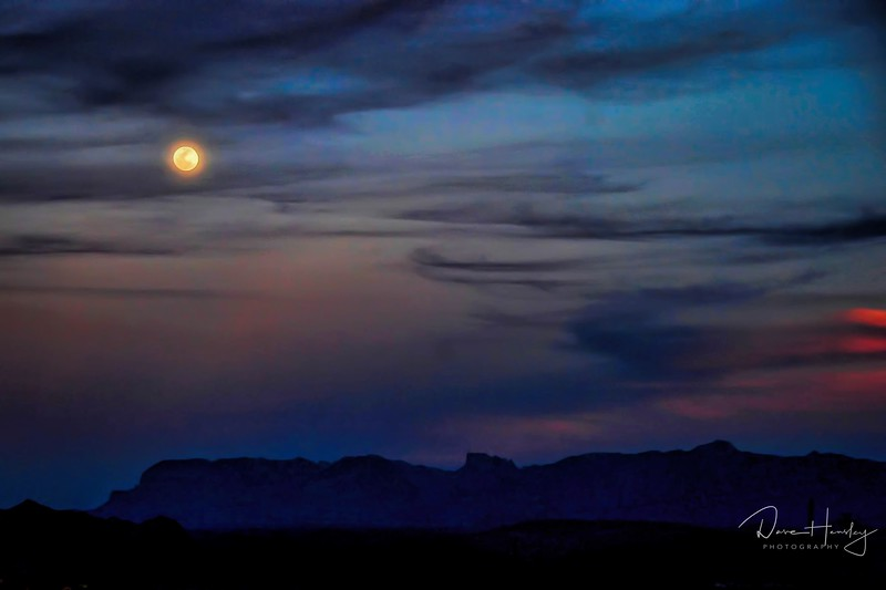 Terlingua Moonrise